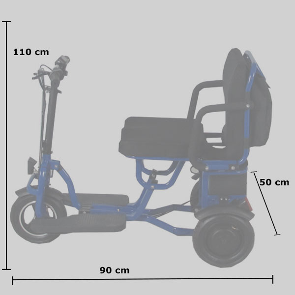 medidas scooter discapacidad lightest