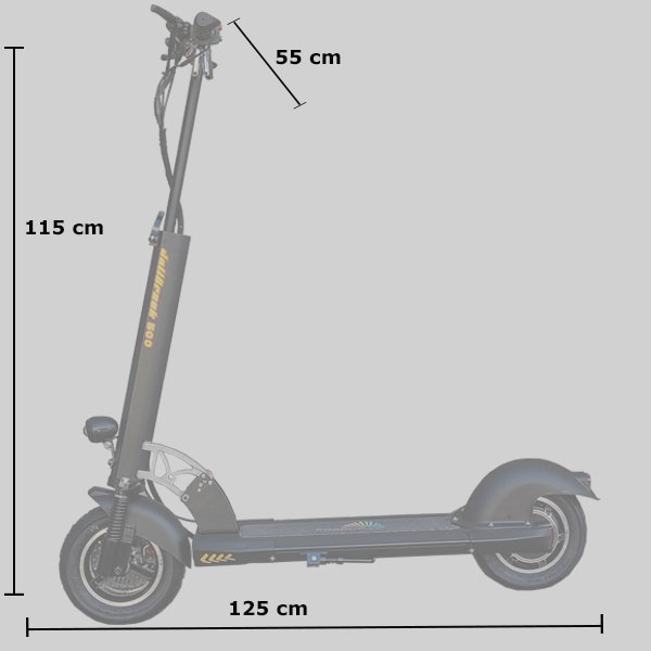 patinete electrico 500W