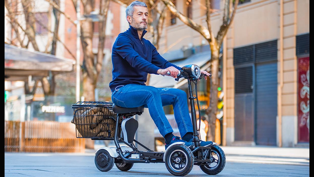 scooter plegable potente