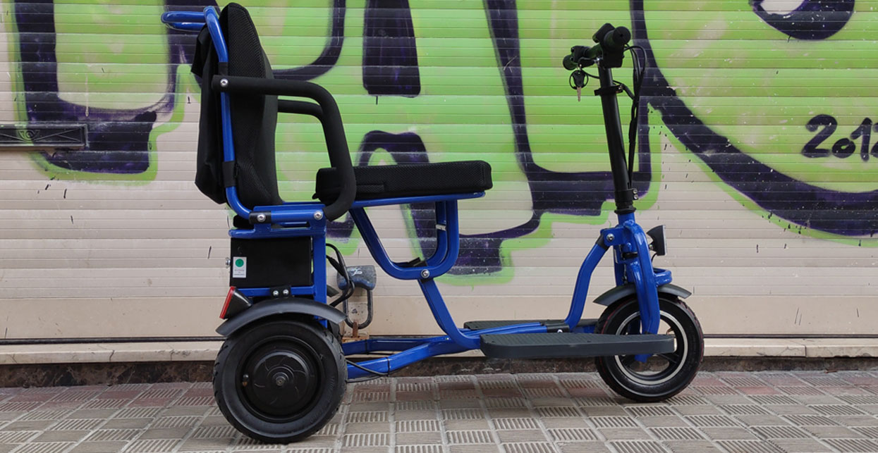 scooter movilidad electrico plegable lightest 350W